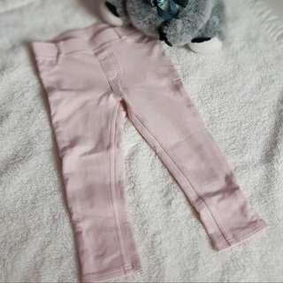 Glitter pink pants