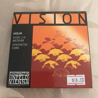 1/4 Vision Violin Strings