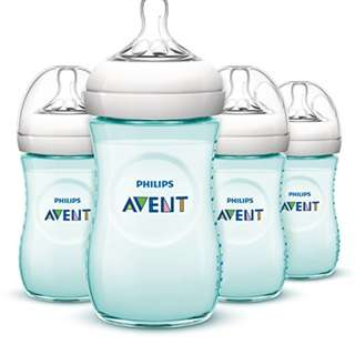 🆕🚼Philips AVENT Teal Limited Edition Natural Bottle (4 Pack)