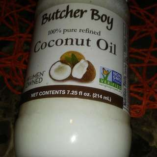 Butcher Boy Coconut Oil