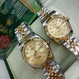 Rolex Date Just Couple Set , Single Also Can