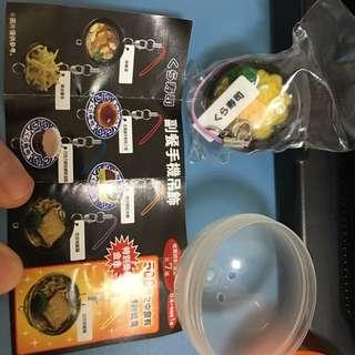 藏壽司 扭蛋 豆皮烏龍麵