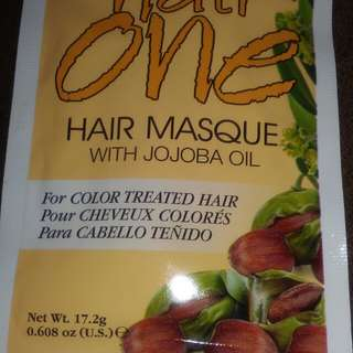 HAIR ONE HAIR MASQUE WITH JOJOBA OIL