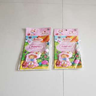 3D Strawberry Shortcake Passport Holder