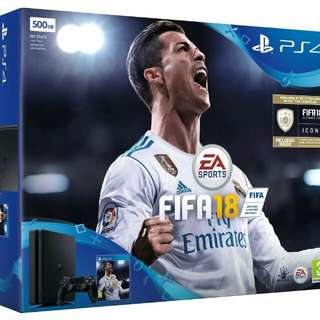 Ps4 slim 500g bundle with fifa 18