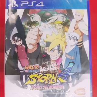 [BrandNew] PS4 Naruto Shippden Ultimate Ninja Storm 4 Road To Boruto
