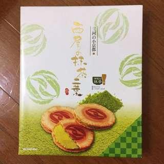 🚚 日本 西尾抹茶薄餅(餅乾禮盒)
