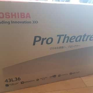 Toshiba Pro Theatre 43L36