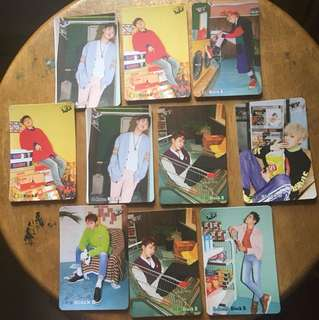Block B Yes Card
