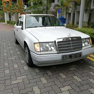 200E Mercedes Benz W124 Coe till end March 2019