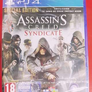[BrandNew] PS4 Assaasin's Creed Syndicate