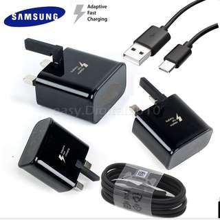 (SG LOCAL STOCK) Samsung S8 Note 8 Type Cable & Fast Charger