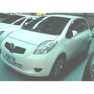 2008年 YARIS 1.5 歡迎試車 免頭款全額貸