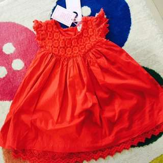 Red Lace Dress Pumpkin Patch