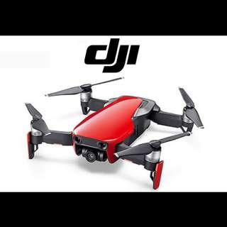 DJI Mavic Air Single Flame Red