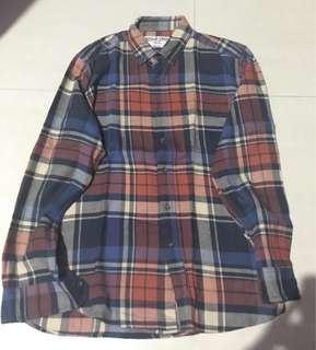 Kemeja Flannel Work Done