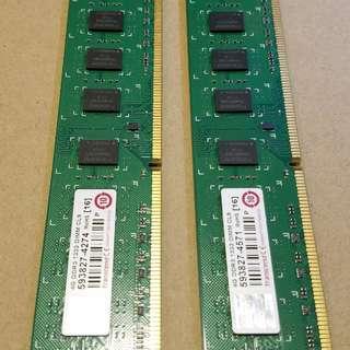 DDR3 Ram 4G x 2