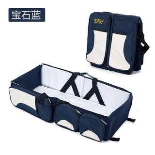 Baby Travel Bag - Blue