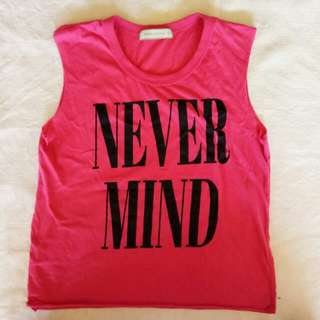 GTW Pink Muscle Tee