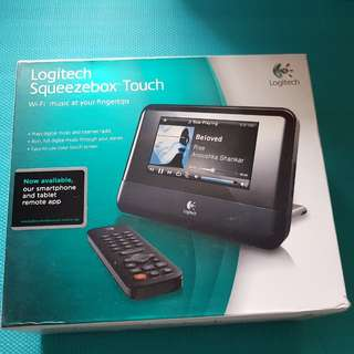 Logitech Squeezebox™ Touch Wi-Fi 音樂播放器