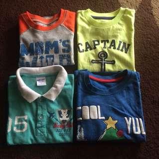 Boys Tshirt 2tahun