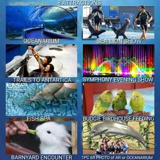 Manila Ocean park tickets