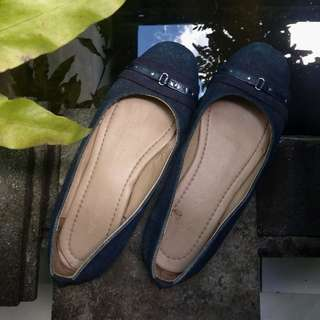 Flat shoes dongker