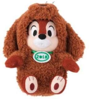 迪士尼 2018新年限定 狗狗變裝 奇奇蒂蒂 20公分