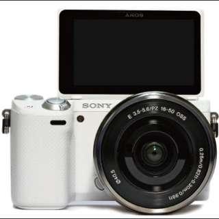 Sony NEX-F3白色雙鏡組