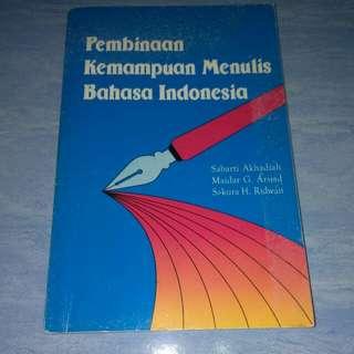 Buku Pembinaan Kemampuan Menulis Bahasa Indonesia
