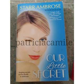 OUR LITTLE SECRET by Starr Ambrose