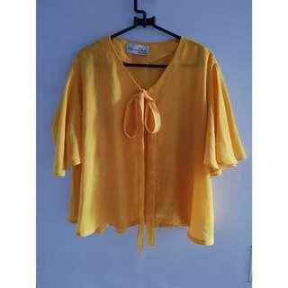 blazer kuning