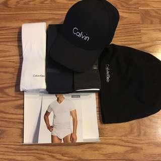 Bnwt Calvin Klein ck V-neck shirt charcoal gray