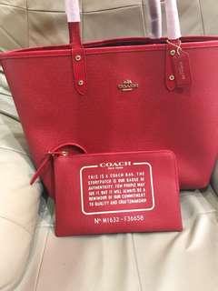 Coach Reversible Tote shopping bag