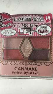 Can make eye shadow palette no.14 5 shades