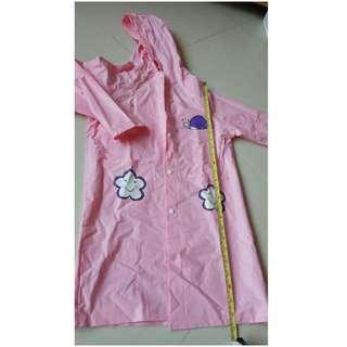 女童雨衣 - 高68CM, 8成新