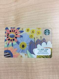 Starbucks Gift Card Spring Card 2018