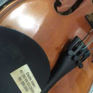 Branded Bachendorf Electric Acoustic Violin