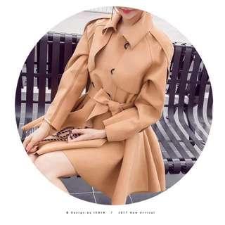 [WINTER COAT] Light brown outer coat