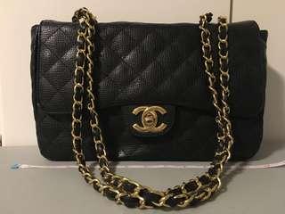 Chanel inspired jumbo classic flap