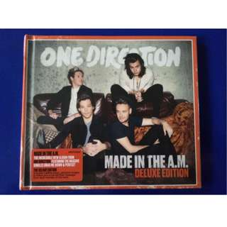 One Direction - Made in the A.M. (Deluxe Mini Booklet Edition) CD