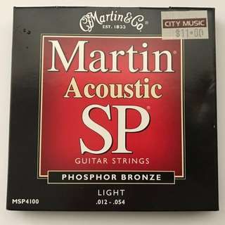 Martin Acoustic SP Guitar Strings