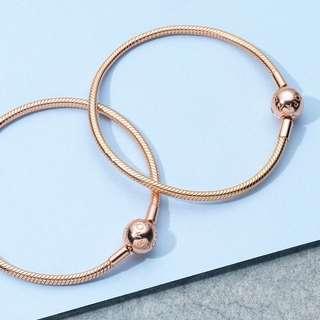 Pandora Rose Moments Smooth Bracelet