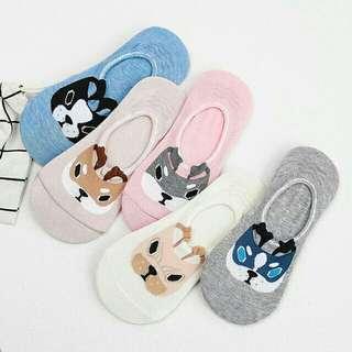 Korean iconic foot socks w/ gel