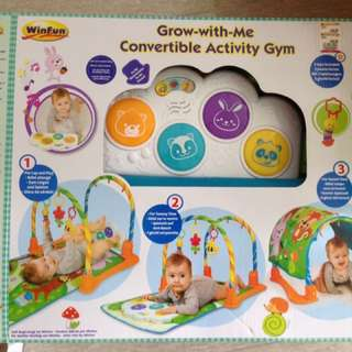 Winfun convertible activity gym