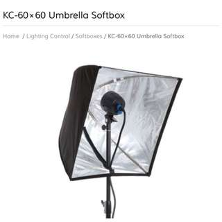 KC-60x60 Softbox