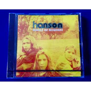 "Hanson- ""Middle of Nowhere"" CD"