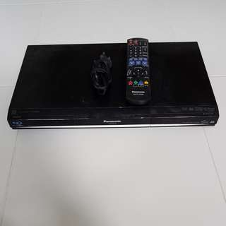 Panasonic Blue-ray Player with Remote Control