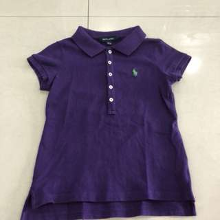 Ralph Lauren Polo Shirt (Girl) (7-8 years)