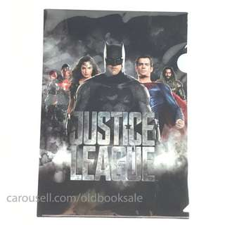 BNIP Justice League File A4 Side & Top Opening